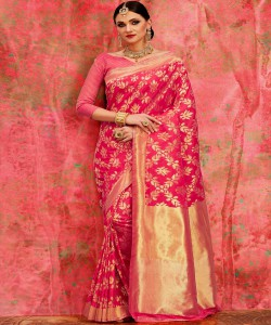 Bhagalpuri Red saree